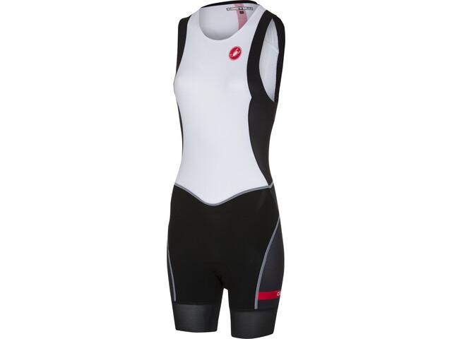 Castelli Free ITU Tri Suit Damer, white/black